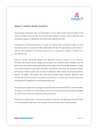 2020 Adapt IT resilient despite Covid-19 Press release Thumb